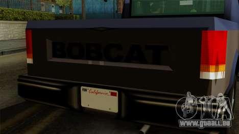 Bobcat from Vice City Stories IVF pour GTA San Andreas vue de droite