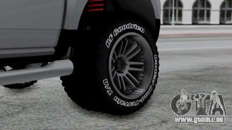 Dacia Duster Terranger 6x6 pour GTA San Andreas sur la vue arrière gauche