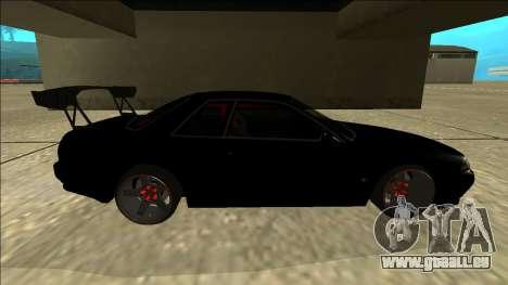 Nissan Skyline R32 Drift für GTA San Andreas Innenansicht