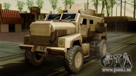 MRAP Cougar 4x4 pour GTA San Andreas