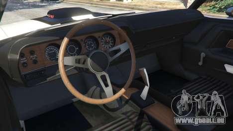 GTA 5 Dodge Challenger RT 440 1970 v1.0 arrière droit vue de côté