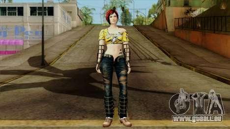 Dead Or Alive 5 Last Round Mila pour GTA San Andreas deuxième écran