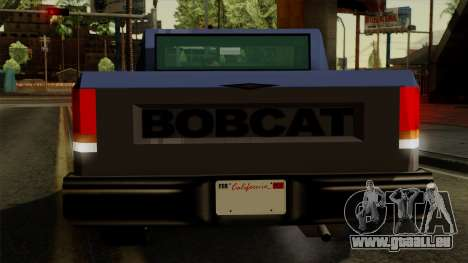 Bobcat from Vice City Stories IVF für GTA San Andreas Innen