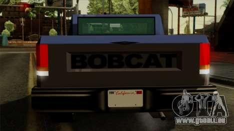 Bobcat from Vice City Stories IVF für GTA San Andreas Innen
