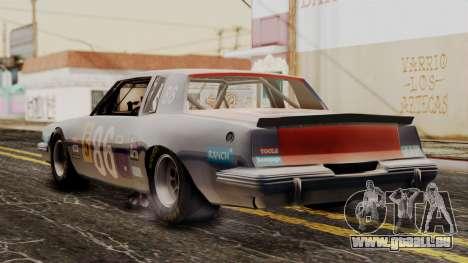 Pontiac GranPrix Hotring 1981 für GTA San Andreas linke Ansicht