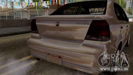 GTA 5 Declasse Asea pour GTA San Andreas vue de droite