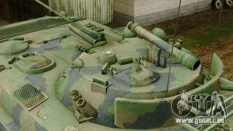 CoD 4 MW 2 BMP-2 Woodland pour GTA San Andreas vue de droite