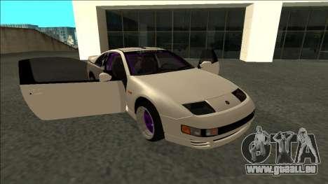 Nissan 300ZX Drift Monster Energy pour GTA San Andreas vue de côté