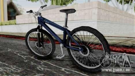 Mountain Bike from Bully pour GTA San Andreas laissé vue