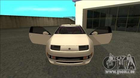 Nissan 300ZX Drift Monster Energy pour GTA San Andreas vue intérieure