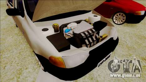 Fiat Palio EDX-Turbo Performance für GTA San Andreas Rückansicht