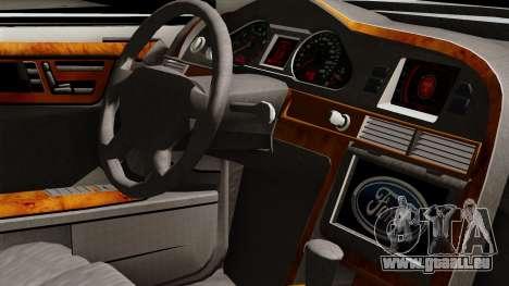 Ford Mondeo für GTA San Andreas rechten Ansicht