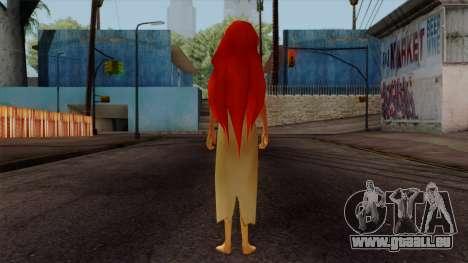 Ariel Mermaid pour GTA San Andreas troisième écran