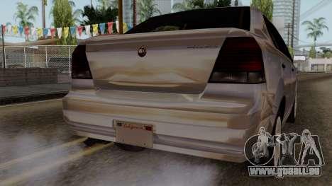 GTA 5 Declasse Asea pour GTA San Andreas vue de côté