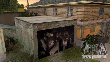 Johnson House Garage - Wiz Khalifa pour GTA San Andreas troisième écran