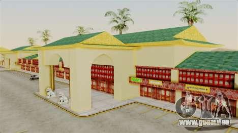 LV China Mall v2 pour GTA San Andreas troisième écran
