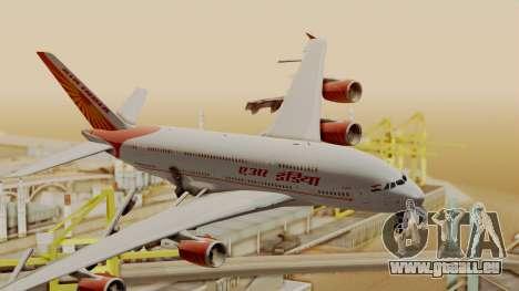 Airbus A380-861 Air India für GTA San Andreas