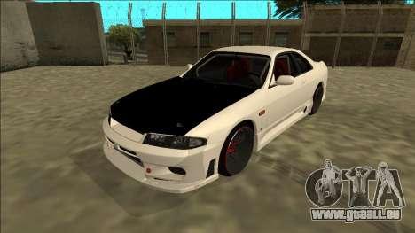 Nissan Skyline R33 Drift pour GTA San Andreas
