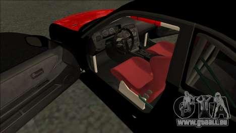 Nissan Skyline R33 Monster Energy pour GTA San Andreas vue de droite