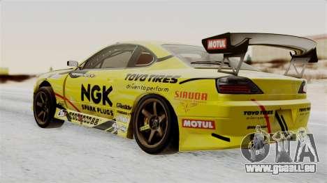 Nissan Silvia S15 RDS NGK für GTA San Andreas linke Ansicht