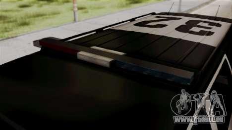 Sheriff Granger Police GTA 5 für GTA San Andreas rechten Ansicht