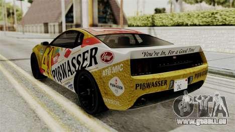GTA 5 Vapid Dominator IVF pour GTA San Andreas vue de côté