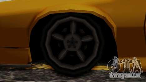 Buffalo (Minimal Tuned) pour GTA San Andreas sur la vue arrière gauche
