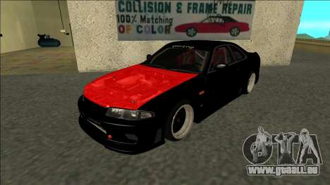 Nissan Skyline R33 Monster Energy pour GTA San Andreas