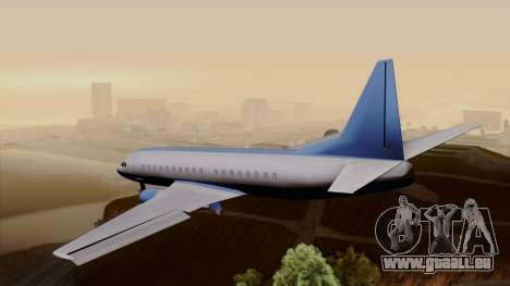 AT-400 Air India pour GTA San Andreas laissé vue