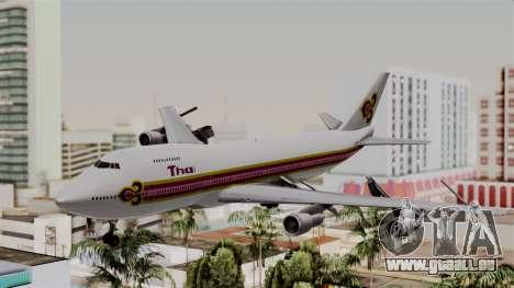 Boeing 747-200 Thai Airways pour GTA San Andreas