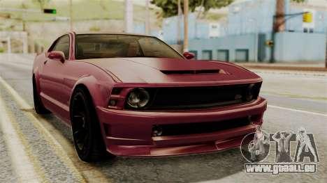 GTA 5 Vapid Dominator IVF für GTA San Andreas