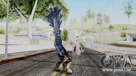 Ogretail from God Eater pour GTA San Andreas troisième écran
