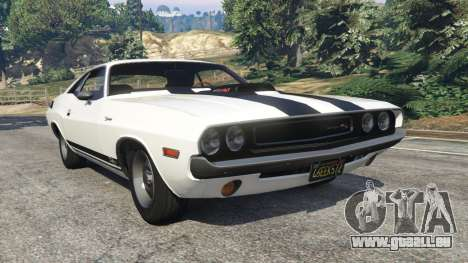 Dodge Challenger RT 440 1970 v1.0 pour GTA 5