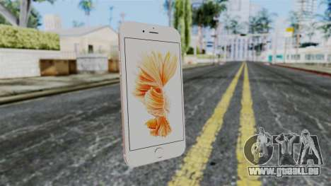 iPhone 6S Rose Gold pour GTA San Andreas