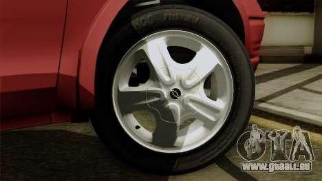 Opel Corsa pour GTA San Andreas sur la vue arrière gauche