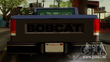 Bobcat from Vice City Stories IVF für GTA San Andreas Seitenansicht