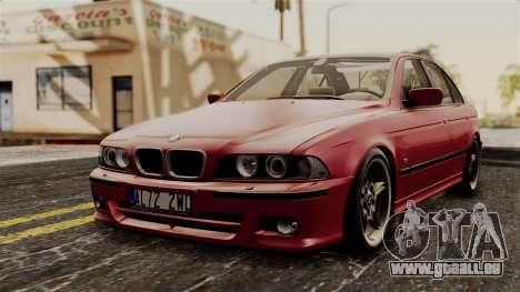 BMW 530D E39 2001 Mtech pour GTA San Andreas