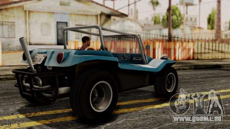 Meyers Manx 1964 pour GTA San Andreas laissé vue