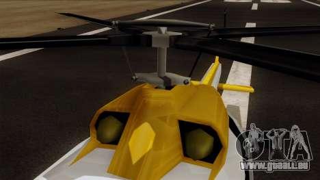 Armadillo from Vice City Stories pour GTA San Andreas vue de droite