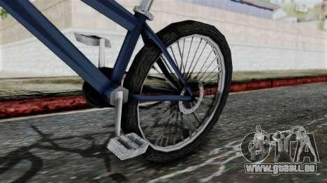 Mountain Bike from Bully pour GTA San Andreas vue de droite