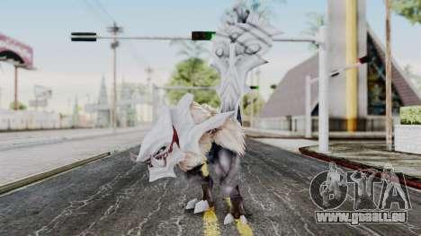 Ogretail from God Eater pour GTA San Andreas deuxième écran
