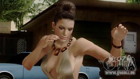RE5 Excella Gione für GTA San Andreas