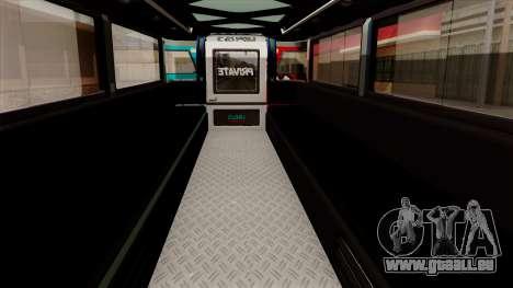 Auto Pormado - Gabshop Custom Jeepney pour GTA San Andreas vue arrière