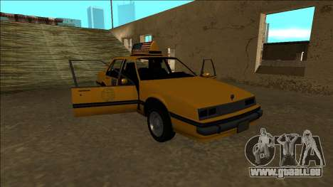 Willard Taxi für GTA San Andreas Motor