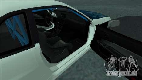 Nissan Skyline R34 Drift pour GTA San Andreas vue de côté