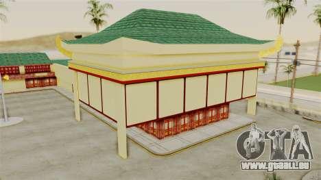 LV China Mall v2 pour GTA San Andreas deuxième écran
