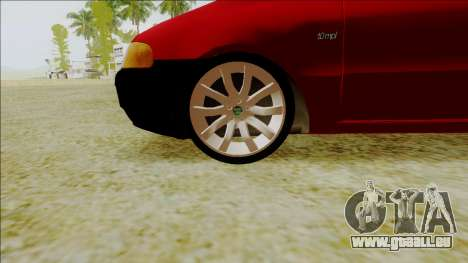 Fiat Palio EDX-Turbo Performance für GTA San Andreas rechten Ansicht
