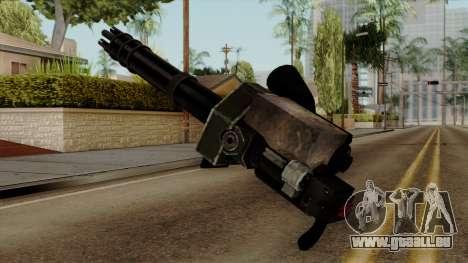Gatling pour GTA San Andreas deuxième écran