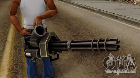 Gatling pour GTA San Andreas troisième écran