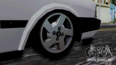 LV Copcar Civil für GTA San Andreas zurück linke Ansicht